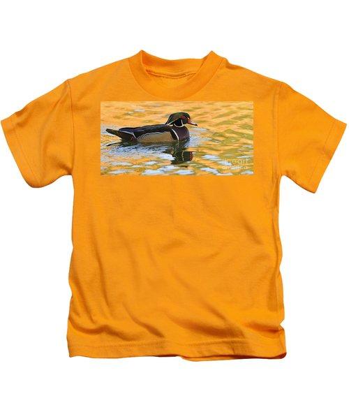 Natures Mirror   Kids T-Shirt