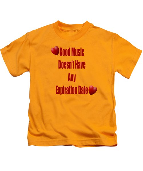 No Expiration Date Kids T-Shirt
