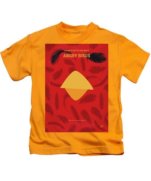 No658 My Angry Birds Movie Minimal Movie Poster Kids T-Shirt