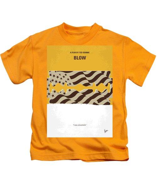 No693 My Blow Minimal Movie Poster Kids T-Shirt