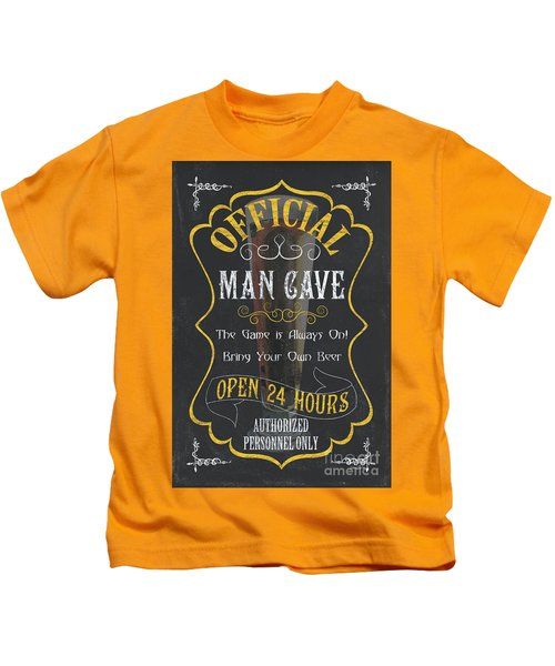 Official Man Cave Kids T-Shirt