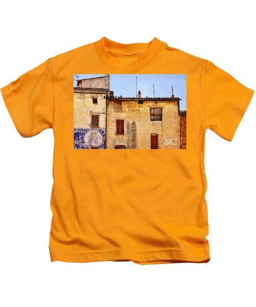 Old Walls In Provence Kids T-Shirt