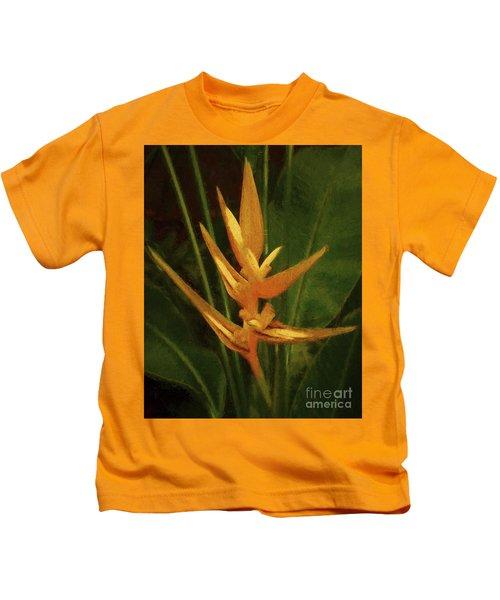 Orange Art Kids T-Shirt
