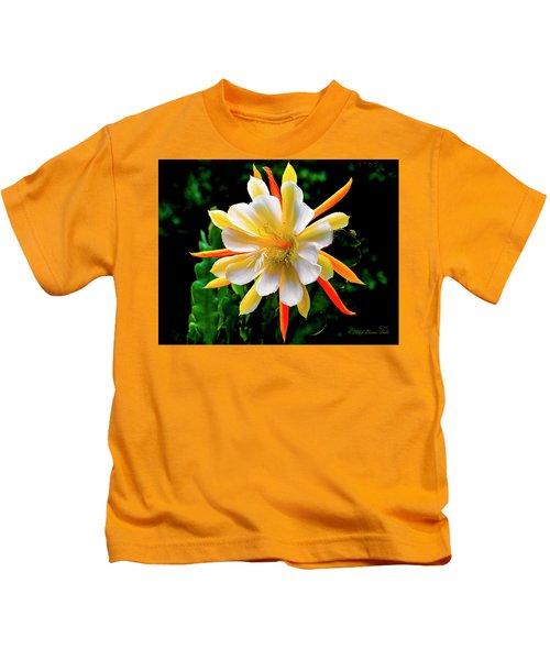 Orchid Cactus Epiphyllum Kids T-Shirt