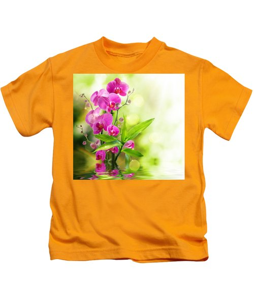Orchidaceae Kids T-Shirt