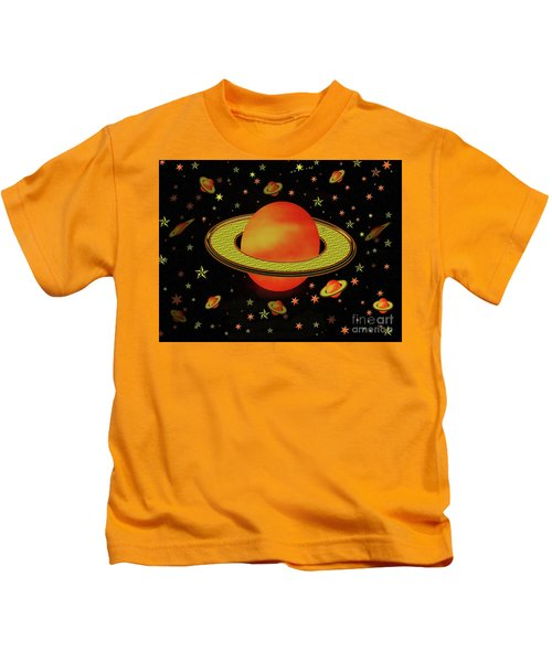 Outer Harvest Moons Kids T-Shirt