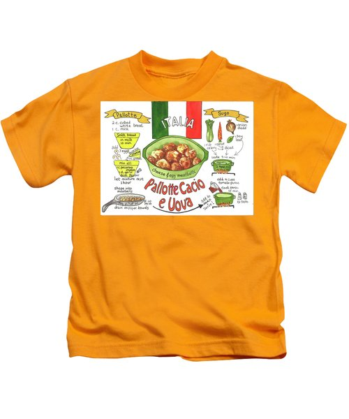 Pallotte Cacio Kids T-Shirt