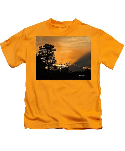 Payson Sunset Kids T-Shirt