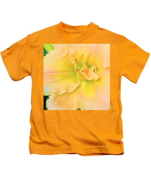 Peach Lily Kids T-Shirt