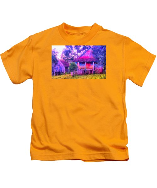 Plank Homes Kids T-Shirt