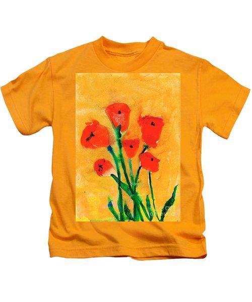 Poppies Kids T-Shirt