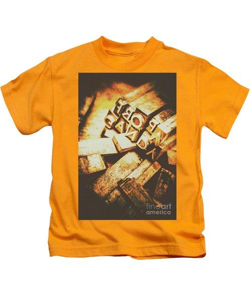 Pressing The Hegelian Dialectic   Kids T-Shirt