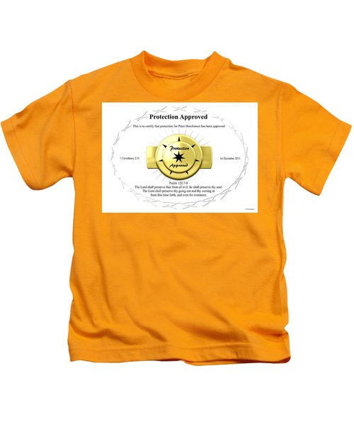 Protection Approved Kids T-Shirt