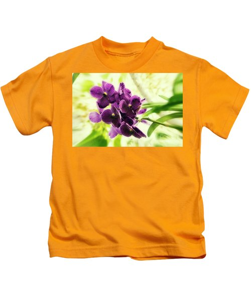 Purple Orchid Kids T-Shirt