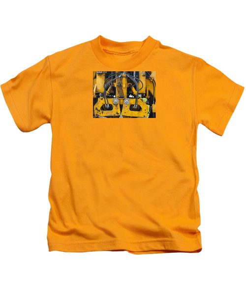 Railroad Equipment Kids T-Shirt