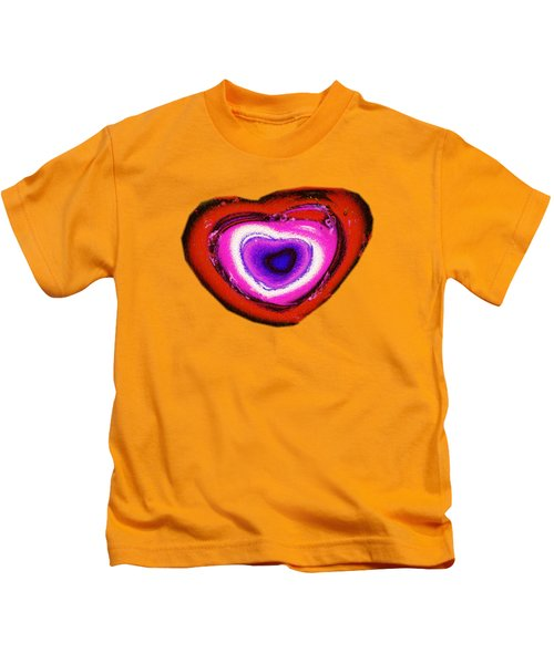 Rainbow Heart Kids T-Shirt