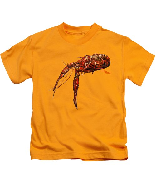 Red Hot Crawfish Kids T-Shirt