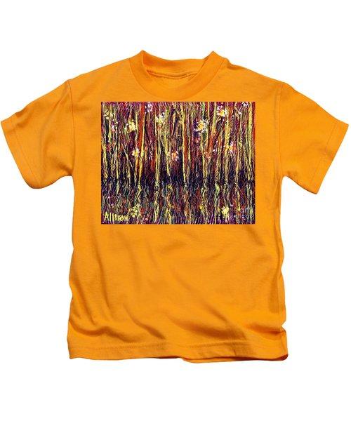 Reflections Of Mt. Dora Florida  Kids T-Shirt