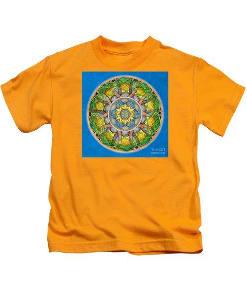 Rejuvenation Mandala Kids T-Shirt