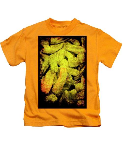Renaissance Green Peppers Kids T-Shirt