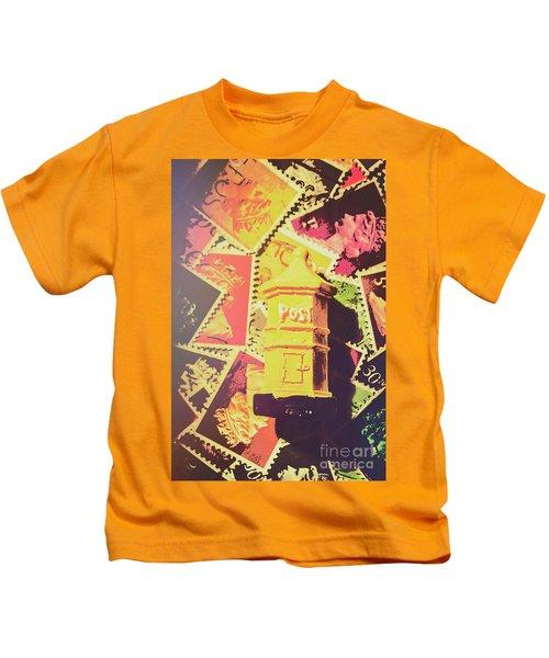 Retro Postal Service Kids T-Shirt