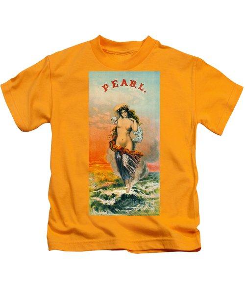 Retro Tobacco Label 1871 Kids T-Shirt
