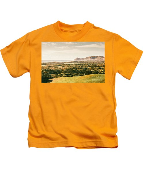 Rocky Capes And Rugged Coasts Kids T-Shirt
