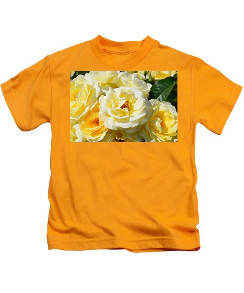 Rose Bush Kids T-Shirt