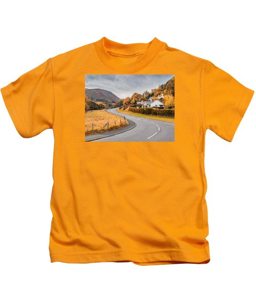 Rural Wales In Autumn Kids T-Shirt