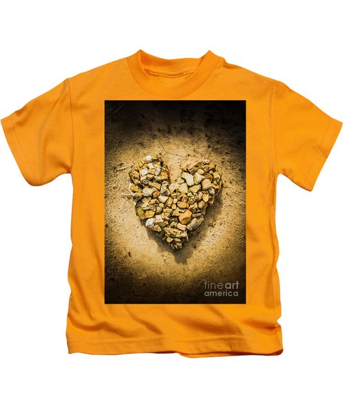 Rustic Rock Romance Kids T-Shirt