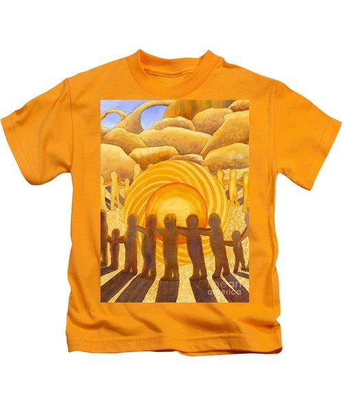Sacral Chakra Kids T-Shirt