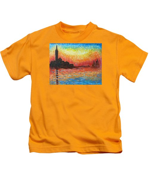 San Giorgio At Dusk Kids T-Shirt