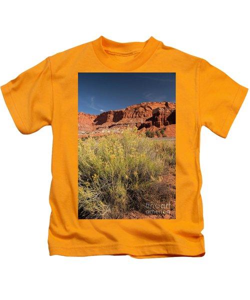 Scenery Capital Reef National Park Kids T-Shirt