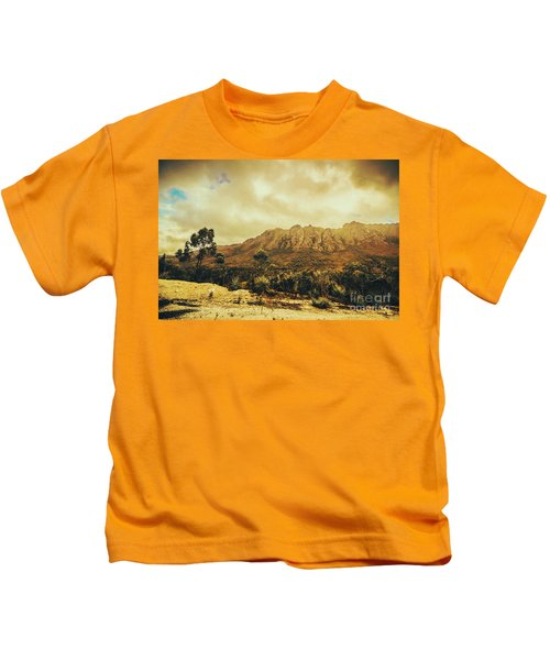 Sentinel Range Tasmania Kids T-Shirt