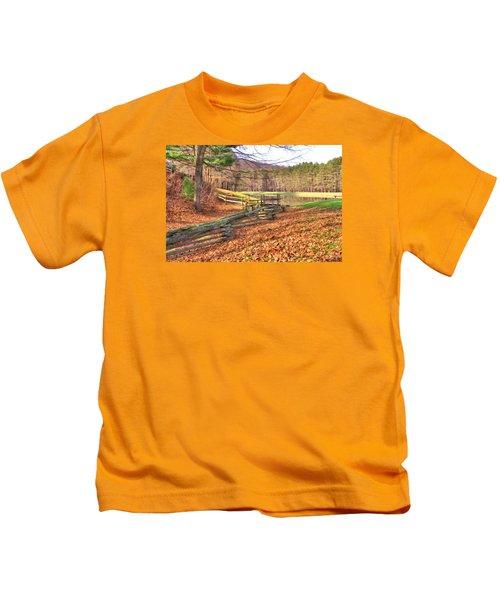 Serene Lake Kids T-Shirt