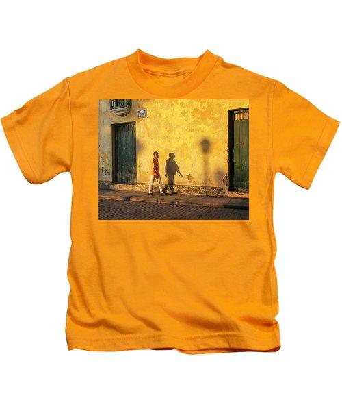 Shadow Walking Kids T-Shirt