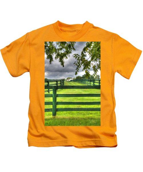Shawanee Fences Kids T-Shirt