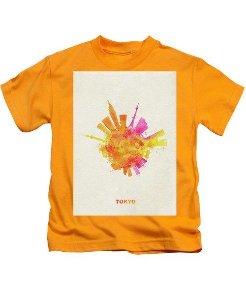 Skyround Art Of Tokyo, Japan  Kids T-Shirt