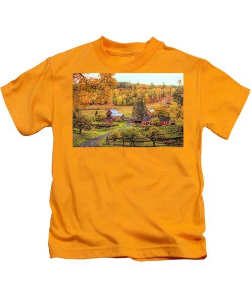 Sleepy Hollow - Pomfret Vermont In Autumn Kids T-Shirt