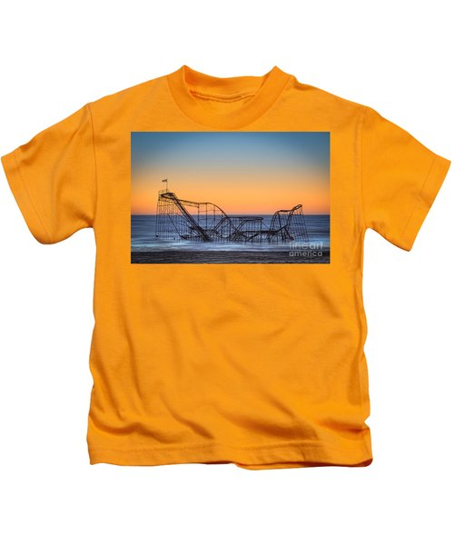 Star Jet Roller Coaster Ride  Kids T-Shirt