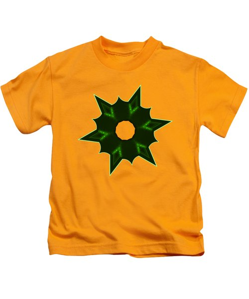 Star Record No. 4 Kids T-Shirt by Stephanie Brock