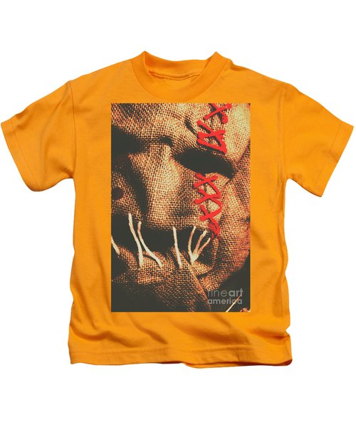 Stitched Up Madness Kids T-Shirt