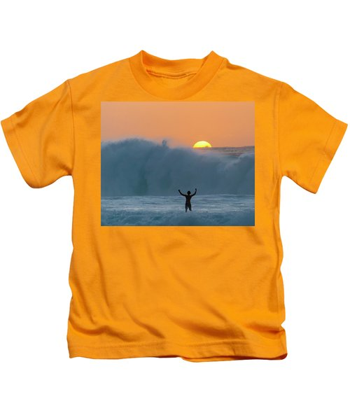 Sun Worship Kids T-Shirt