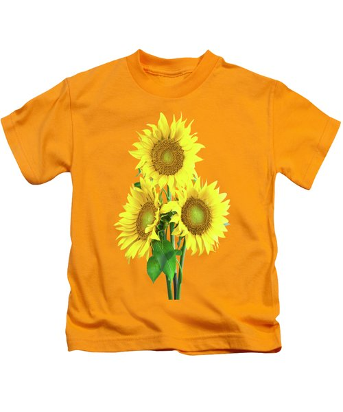 Sunflower Dreaming Kids T-Shirt