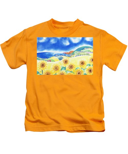Sunflower Hills Kids T-Shirt