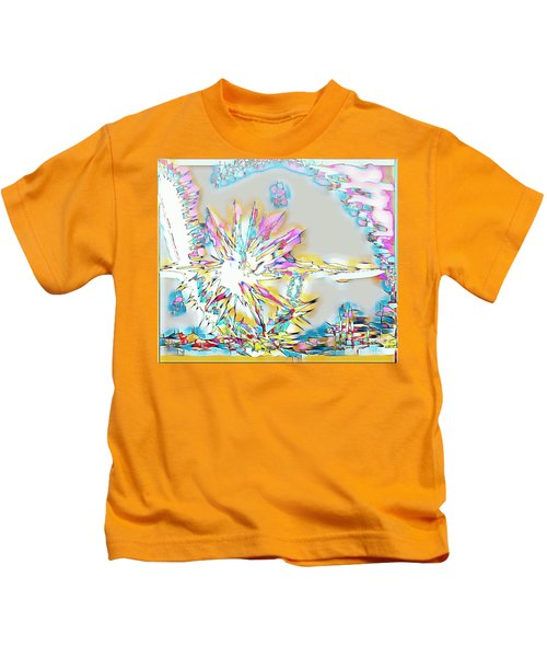 Sunrise Over The City Kids T-Shirt