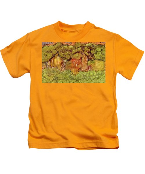Sunset In The Forest Kids T-Shirt