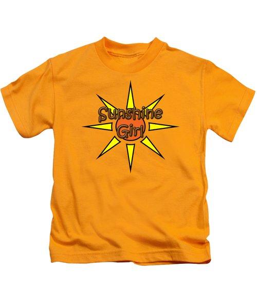 Sunshine Girl Kids T-Shirt