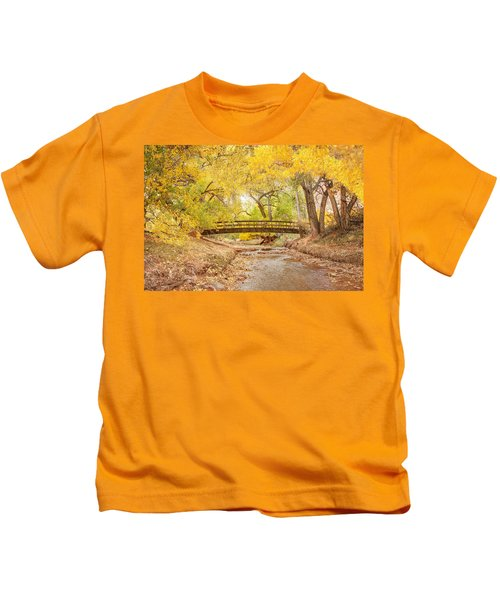 Teasdale Bridge Kids T-Shirt