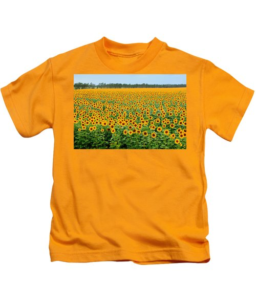 The Field Of Suns Kids T-Shirt